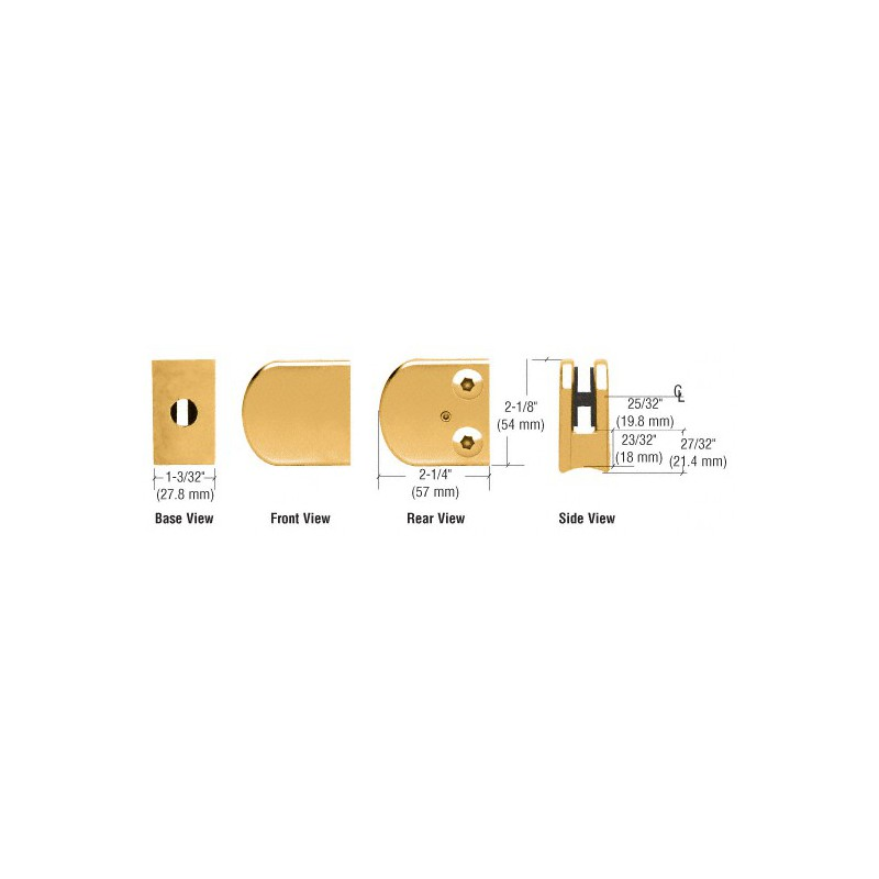 Buy Pck8 Crl H Jamb Seal With Cushion Fin For 180 Degree Application Glass Experts
