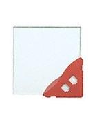 CRL Profilés de porte carrés, sans serrure, 254 mm (10 po) | Glass Experts